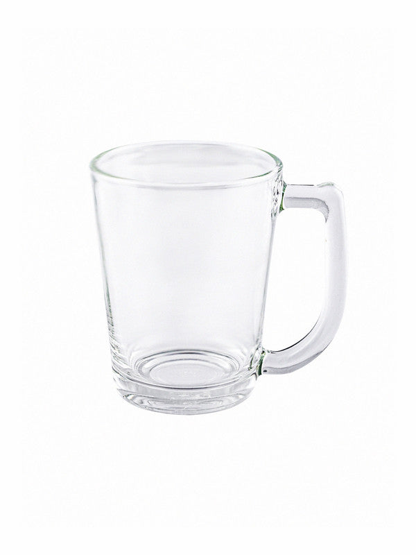 LUCKY Glass Coffee Mug (Set of 6pcs)