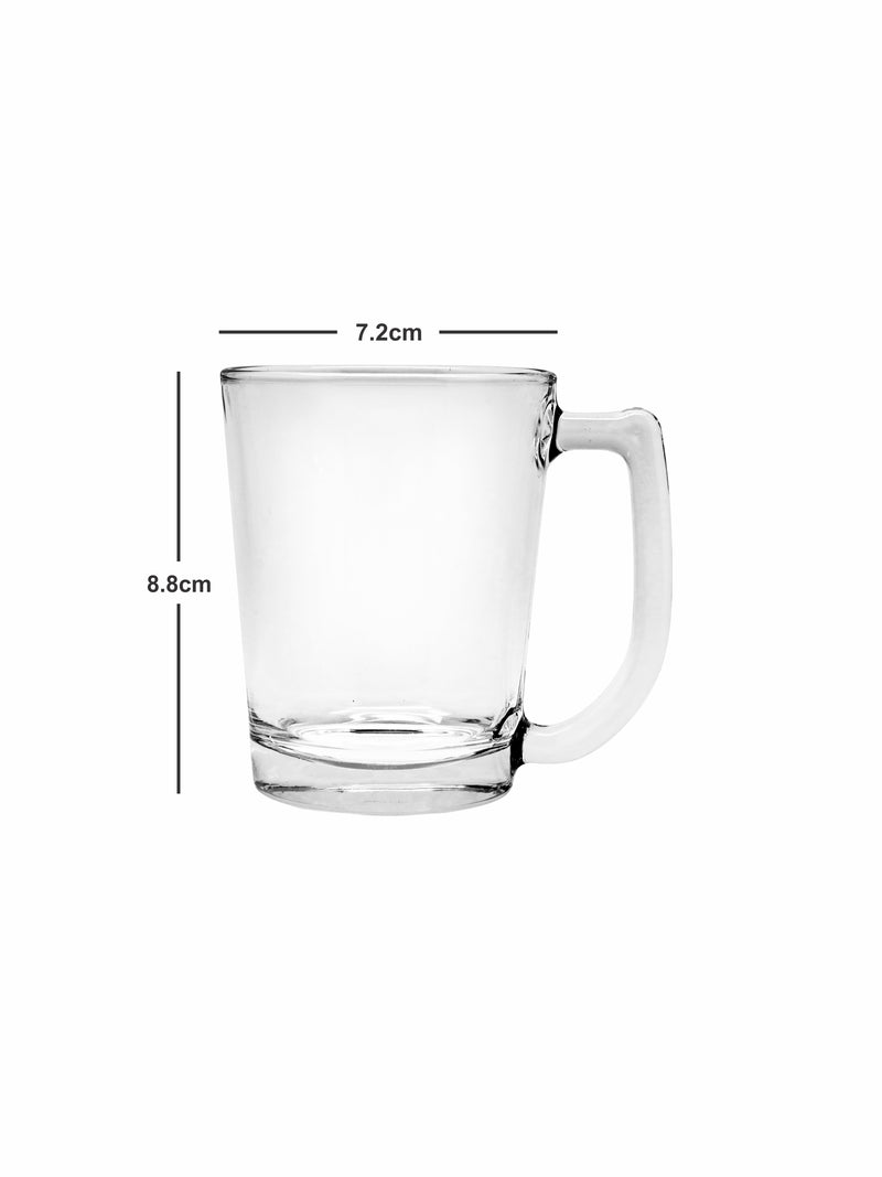 LUCKY GLASS Mugs (Set of 6pcs)-LG-312007