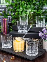 GOODHOMES Glass Juice Tumbler (Set of 6pcs) AB-J5