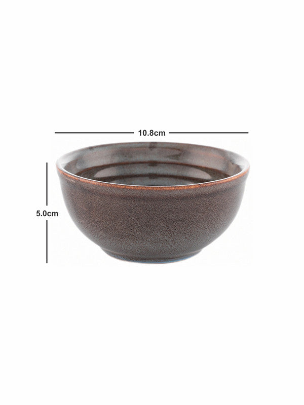 GOODHOMES  designer Stoneware Veg. Bowl (Set of 6pcs) DDSWVB-6