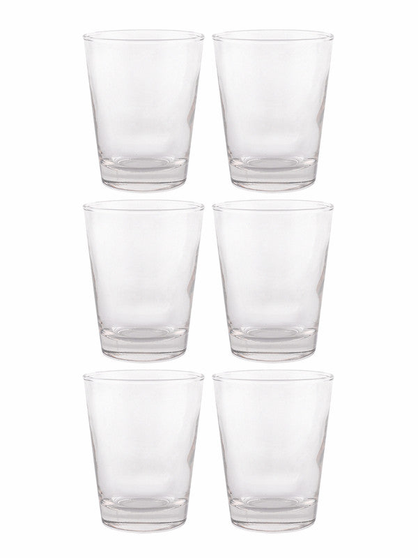 DUROBOR Dallas Conique Glass Tumblers (Set of 6pcs) DSS-312-22