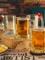 LUCKY Glass Beer Mug (Set of 6pcs)  LG-312213