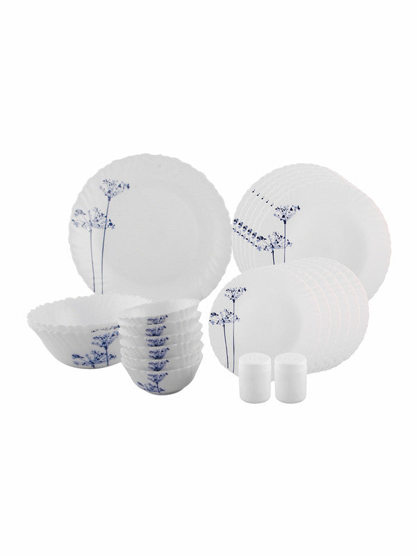 Aqua Spray Opalware Dinner Set (Set of 23 pcs) LOP-AS-DS23P