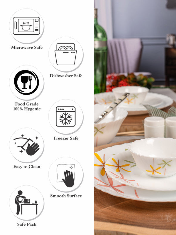 Nova Autumn Flower Dinner Set (Set of 15pcs) LOP-NAF-DS15P