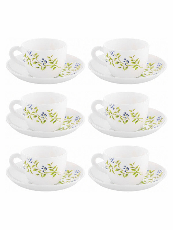LaOpala Princess Cup Saucer (Set of 12pcs) LOP-PLG-CS12P