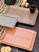 Goodhomes Melamine Serving Tray Set ( Set of 3 Trays) MT130