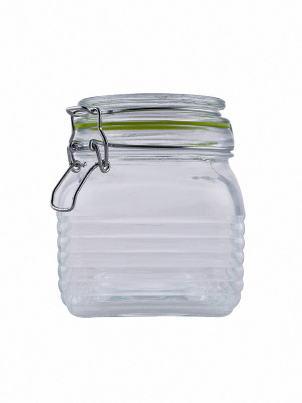 Glass Jar Set with Airtight Swing Cap (Set of 3 pcs) RX-2289-3