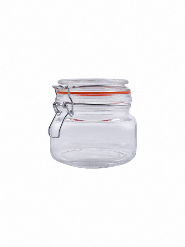 Glass Jar Set with Airtight Swing Cap (Set of 3 pcs) RX-2292-3