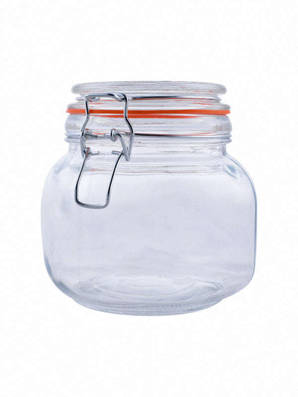 Glass Jar Set with Airtight Swing Cap (Set of 3 pcs) RX-2293-3