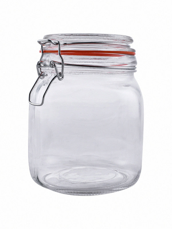 Glass Jar Set with Airtight Swing Cap (Set of 3 pcs) RX-2294-3