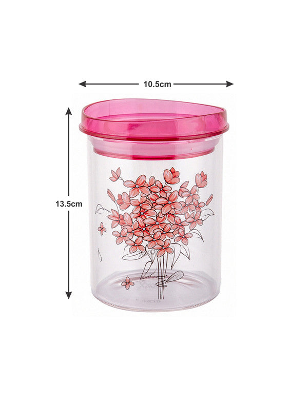 Borosilicate Glass Jar Set with Print (Set of 3pcs) RX1777-3