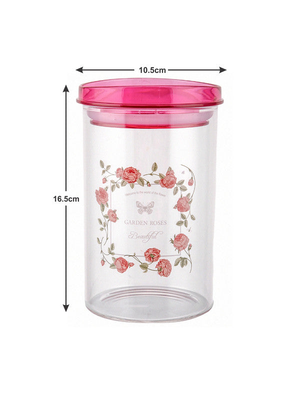 Borosilicate Glass Jar Set with Print (Set of 3pcs) RX1782-3