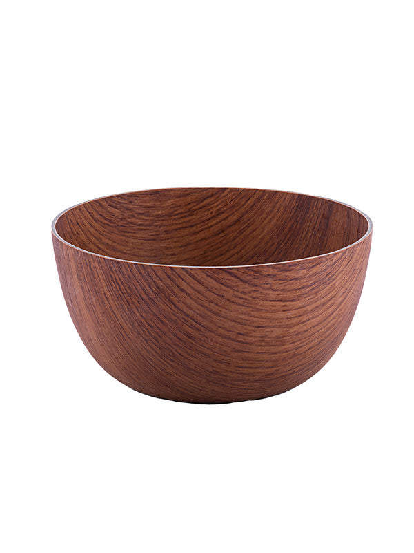 SEVEN SEAS Wooden finish Round 20cm Bowl SS-10183