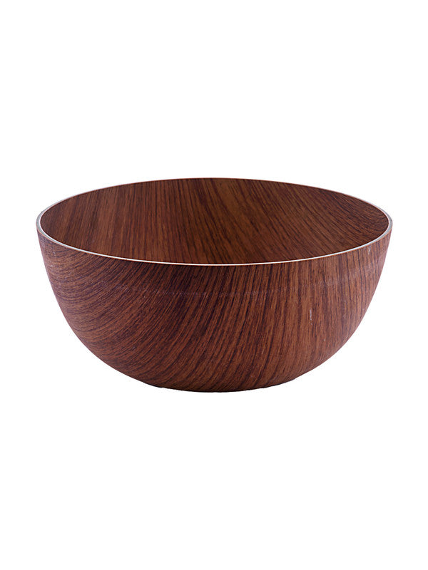SEVEN SEAS Wooden finish Round 24cm Bowl SS-10184
