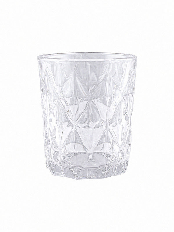 GOODHOMES Premium Glass Tumbler  (Set of 6pcs)