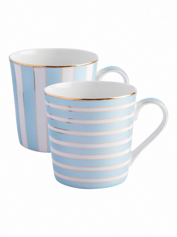 Bone China Tea Cups/Coffee Mugs (Set of 2 pcs) STIFAN-HG-02-MINTGREEN