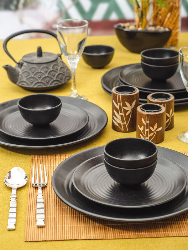 GOODHOMES Dinner Set (Set of 16 pcs)  SW-FQPRB-6
