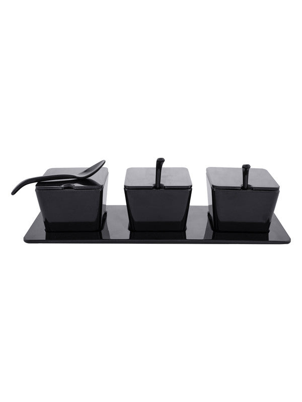 Melamine Square Condiment Set (Set of 10pcs) SW-IBL1037-3-10P-B