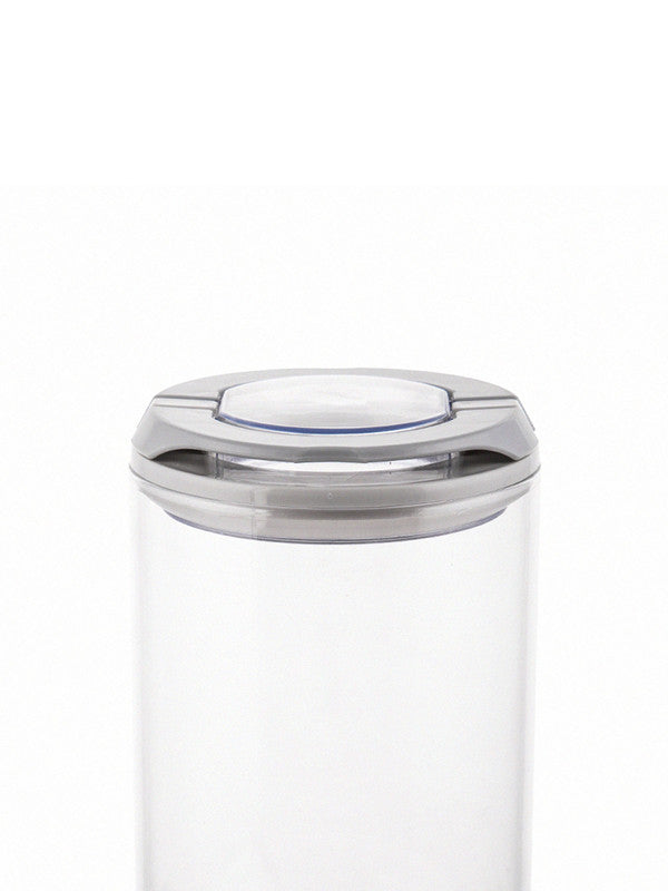 Flip Lock-tight borosilicate Glass Storage Jar Set (Set of 2pcs) WG-11033-2