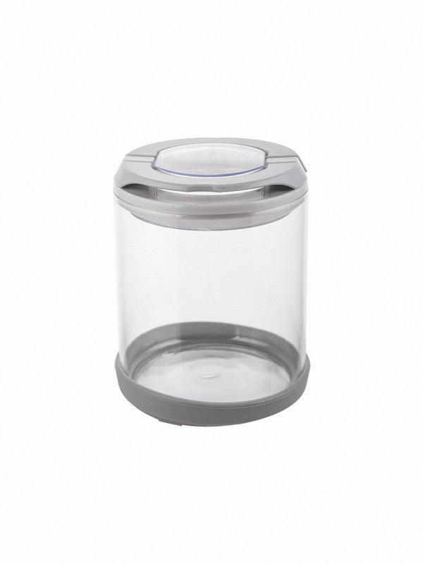 Flip Lock-tight borosilicate Glass Storage jar Set (Set of 2pcs) WG-11034-2