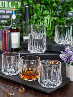 GOODHOMES Glass Whisky Tumbler (Set of 6pcs) Y3701