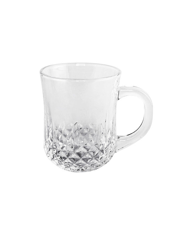 Glass Tea/Coffee Mug (Set of 6pcs) YJZB-2412-4