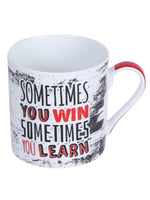 Bone China Mug Set with You Win Slogan ( Set of 4 Cup ) ZOE-MM-113