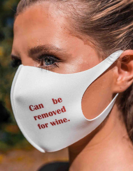 Wined Up Limited face mask