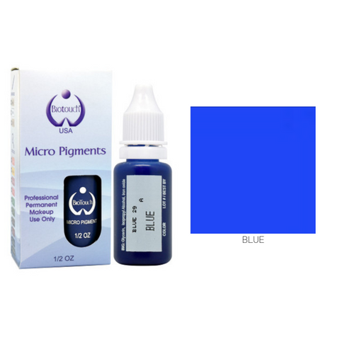 Biotouch Micropigment BLUE Permanent Makeup