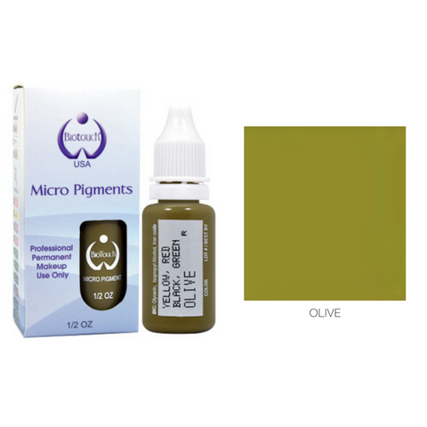 Biotouch Micropigment OLIVE Permanent Makeup
