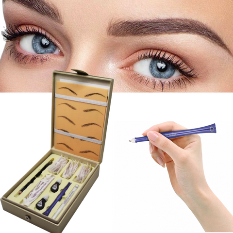 Biotouch Microblading Feather Touch Eyebrow Design Kit