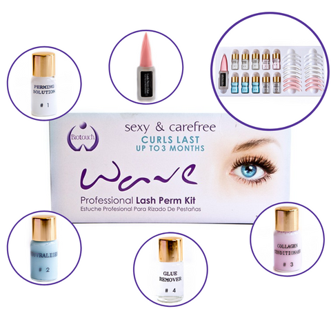 BioTouch WAVE Professional Eye Lash Perm Kit
