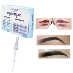 Biotouch Sterilized 3 PRONG NEEDLE ROUND for Mosaic Microblading Machine