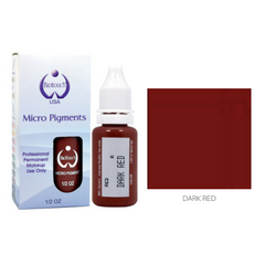 Biotouch Micropigment DARK RED Permanent Makeup