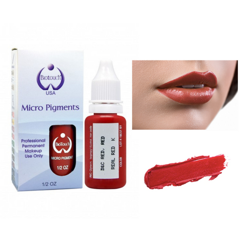 Biotouch Micropigment REAL RED Permanent Makeup