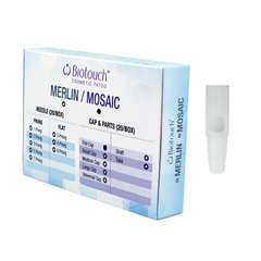 Biotouch Sterilized FLAT NEEDLE CAP for Mosaic Machine