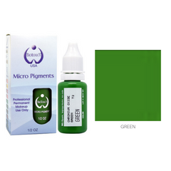 Biotouch Micropigment GREEN Permanent Makeup