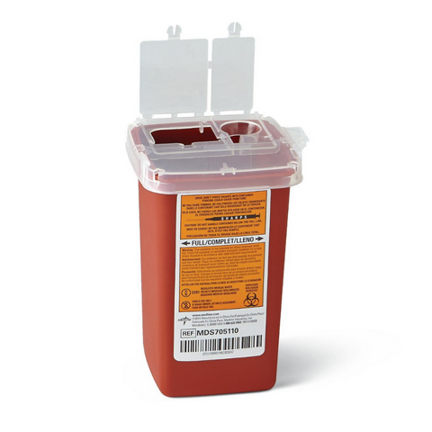 Biotouch Bio Hazard Sharps Containers 1 Quart