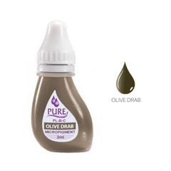 Biotouch Pure Pigment OLIVE DRAB Permanent Makeup