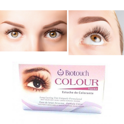 Biotouch Eye Lash Colour Tint Kit - Brown