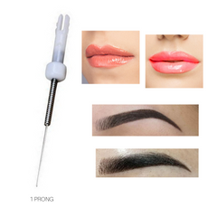 Biotouch Sterilized 1 PRONG NEEDLE ROUND for Mosaic Microblading Machine