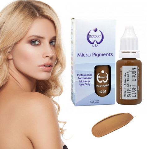 Biotouch Micropigment LIGHT BROWN Permanent Makeup