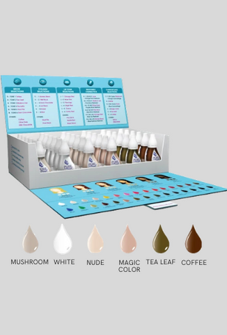 Biotouch 36 Bottles CAMOUFLAGE SET Pure Pigments