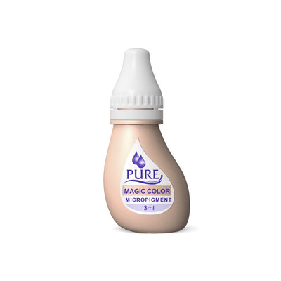 BioTouch Permanent Makeup Pure Line MicroPigment Cosmetic Color - Pure Magic Color 3ml [6 Bottles Per Box]