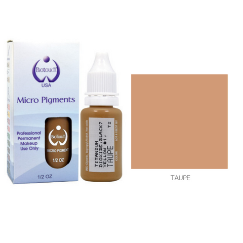 Biotouch Micropigment TAUPE Permanent Makeup