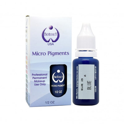 BioTouch Permanent Makeup MicroPigment Cosmetic Color - Blue 1/2oz