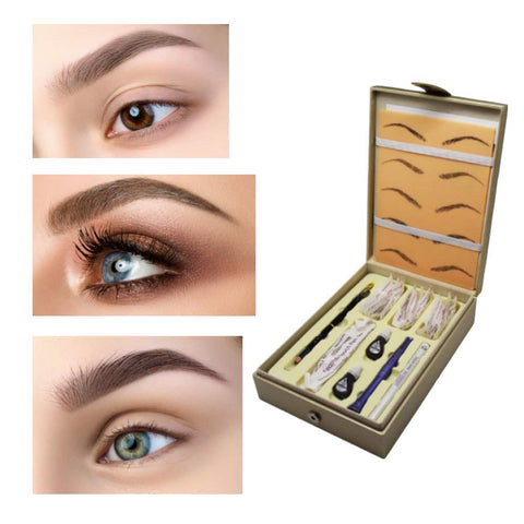 Biotouch Microblading FT Kit & Pure Pigment Eyeliner Set