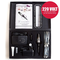 BioTouch Mosaic 220-Volts Tattoo Machine Deluxe Kit, European Version, will NOT work in the US
