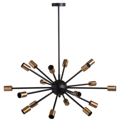 Medusa Large Brass Bomb Light - Husoe Home