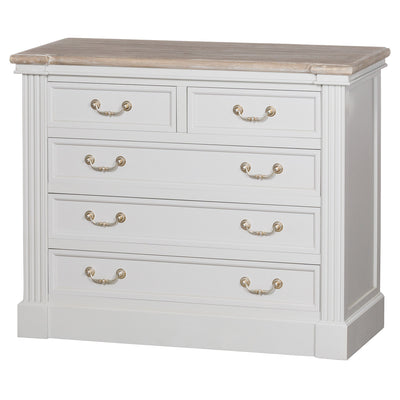 Knightsbridge Collection Two Over Three Chest Of Drawers - Husoe Home